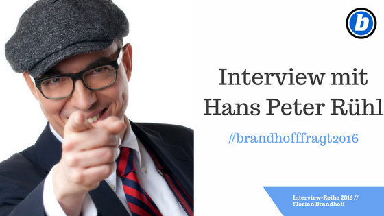 Interview mit Hans Peter Rühl