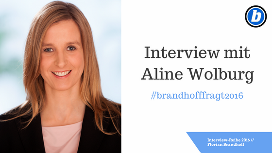 Interview mit Aline Wolburg