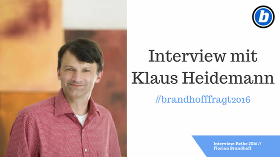 Interview mit Klaus Heidemann
