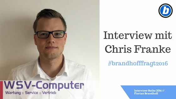 Interview mit Chris Franke